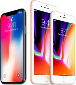 Apple iPhone X iPhone 8 iPhone 8 Plus